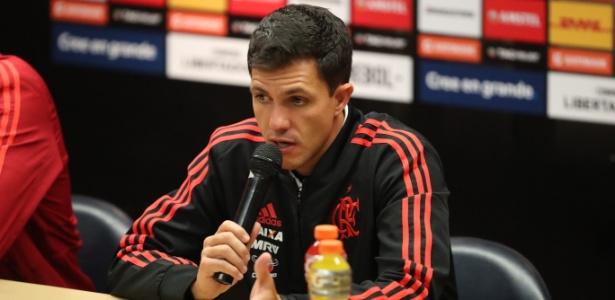 Barbieri está há pouco mais de um mês no comando do Flamengo