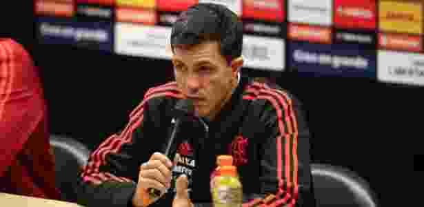 Barbieri está há pouco mais de um mês no comando do Flamengo - Gilvan de Souza/ Flamengo