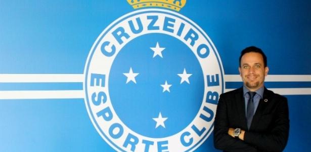 Renê Salviano é diretor de Novos Negócios e Negócios Internacionais do Cruzeiro há três meses