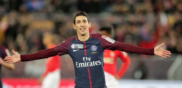 Di María, aos 30 anos, prolongou seu contrato com o PSG até 2021 - Romain Perrocheau/Getty Images