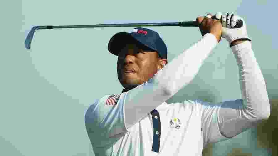 O golfista norte-americano Tiger Woods - FRANCK FIFE / AFP