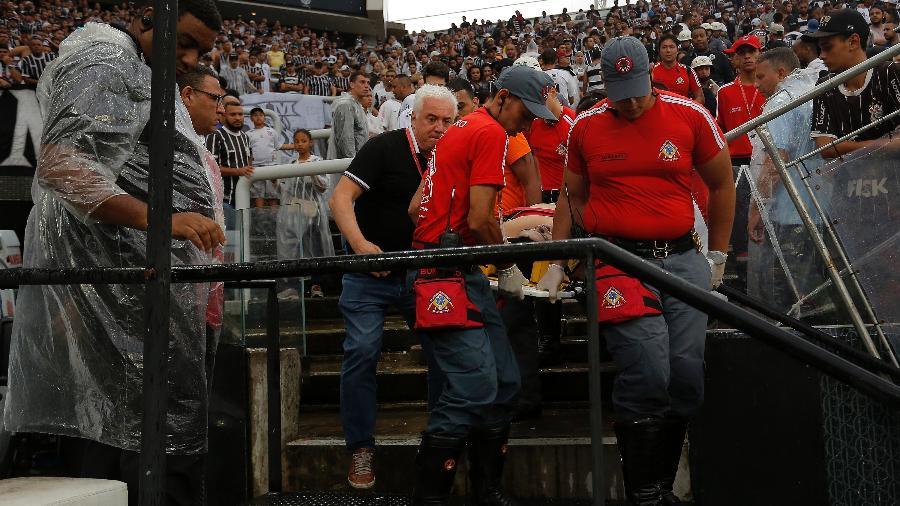 Diego da Silva tinha apenas 23 anos e não resistiu após parada cardiorrespiratória - Daniel Vorley/Agif