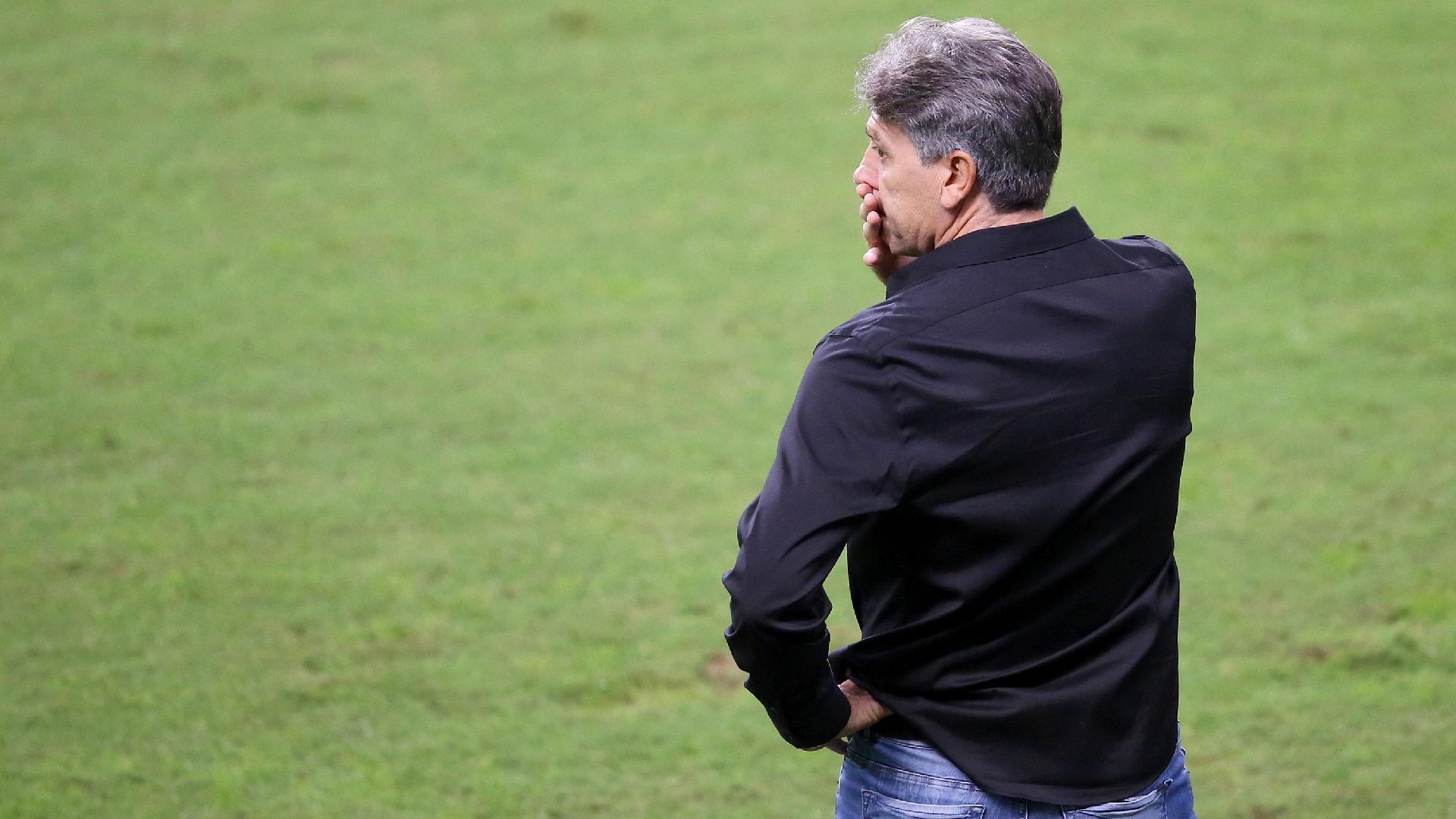Renato Gaúcho fica atônito com virada do Fluminense sobre o Grêmio