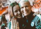 Goleira da seleção de handebol, Mayssa Pessoa pede namorada em casamento - Arquivo Pessoal