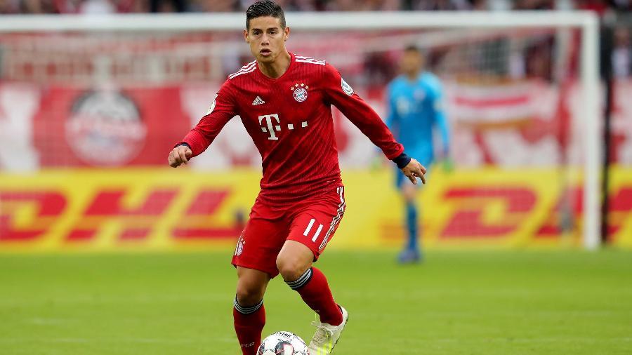 James Rodríguez tem futuro incerto após temporada jogando pelo Bayern de Munique - Alexander Hassenstein/Getty Images
