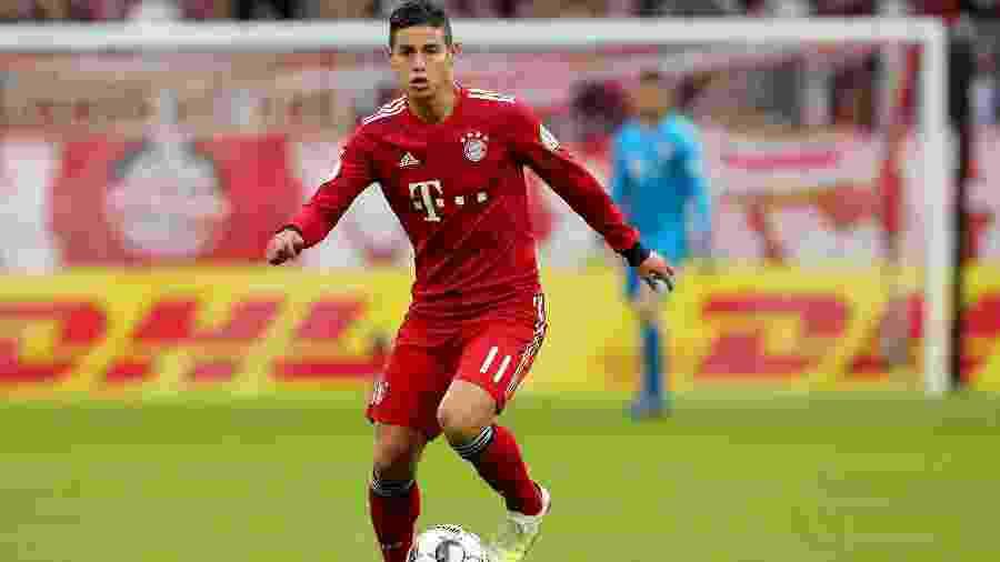 James Rodríguez pediu para alemães não efetuarem opção de compra - Alexander Hassenstein/Getty Images