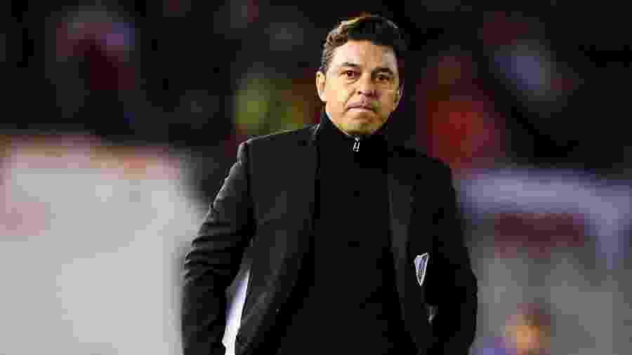 Marcelo Gallardo, técnico do River Plate - Marcelo Endelli/Getty Images