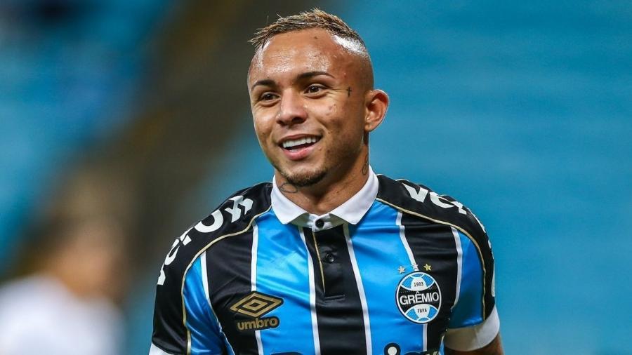 Estilo de jogo de Everton agrada a Jorge Jesus, novo técnico do Benfica - Divulgação/Site oficial do Grêmio