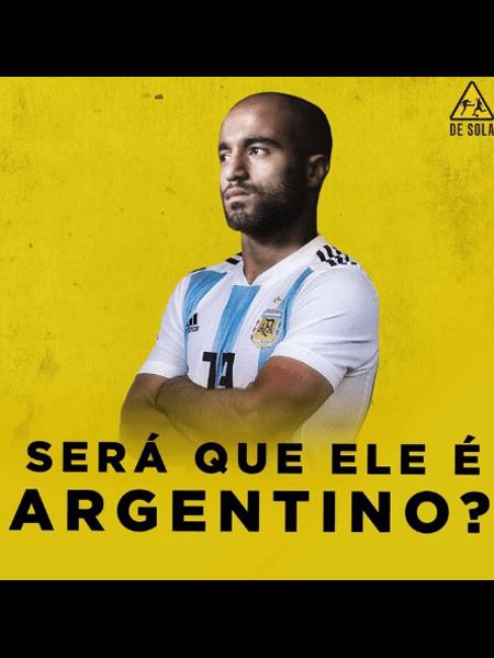 Meme brinca com a não convocação de Lucas Moura por Tite - Reprodução/Instagram