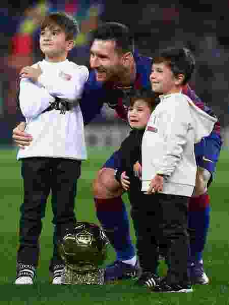 Bola de Ouro é entregue a Messi - Quality Sport Images/Getty Images