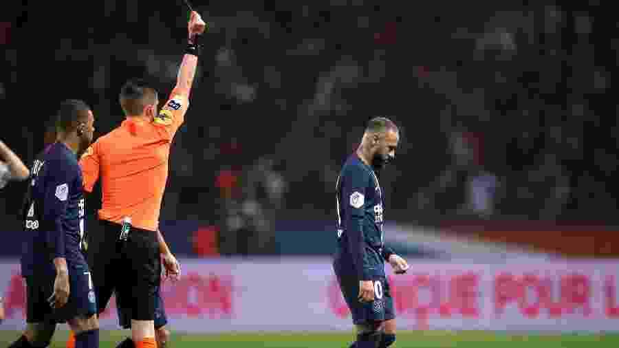Com Neymar expulso no fim, PSG vence o Bordeaux em jogo de sete gols - Benoit Tessier/Reuters