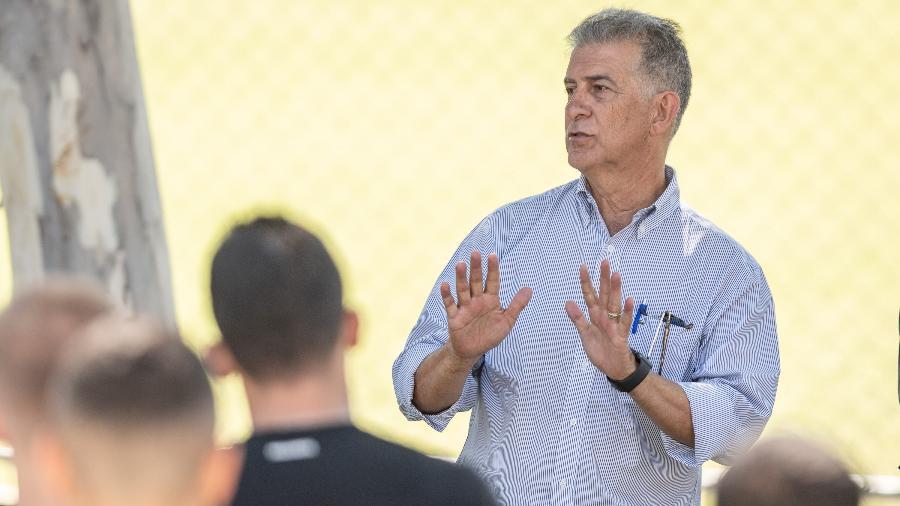 Ricardo Drubscky, diretor de futebol do Cruzeiro, fala sobre os limites financeiros do clube  - Gustavo Aleixo/Divulgação/Cruzeiro