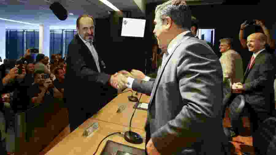 Antes parceiros, Sette Câmara e Kalil agora têm relações estremecidas  - Bruno Cantini/Atlético-MG