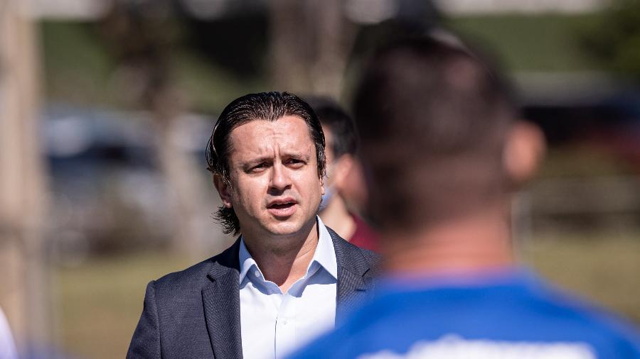 Sergio Santos Rodrigues precisará buscar recursos para contratar jogadores em 2021 - Gustavo Aleixo/Cruzeiro