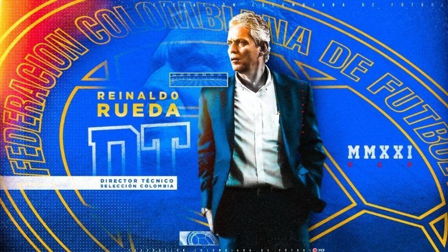 Reinaldo Rueda é o novo treinador da seleção colombiana - Divulgação