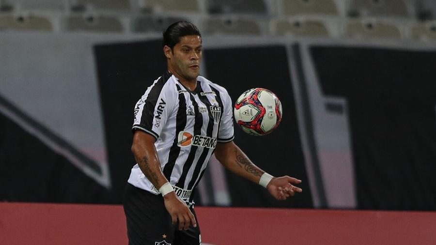 Hulk só fez 1 gol em 7 partidas e já virou reserva do Atlético-MG - Pedro Souza / Atlético