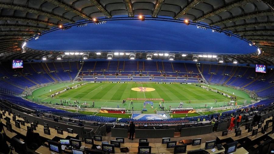 O Estádio Olímpico de Roma deve receber jogos da Eurocopa - Paolo Bruno/Getty Images