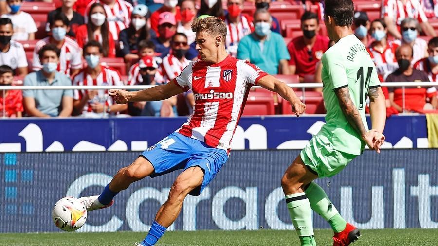 Atlético de Madri e Athletic Bilbao ficaram no 0 a 0 pelo Campeonato Espanhol - Reprodução/Twitter @Atleti