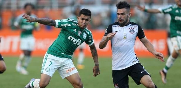 Dudu marcou o único gol do clássico disputado neste domingo