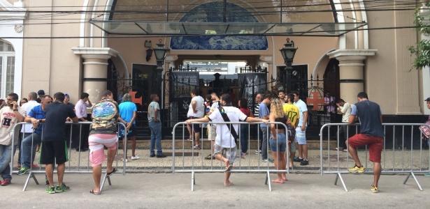 Vasco treinou com os portões fechados em São Januário nesta segunda-feira