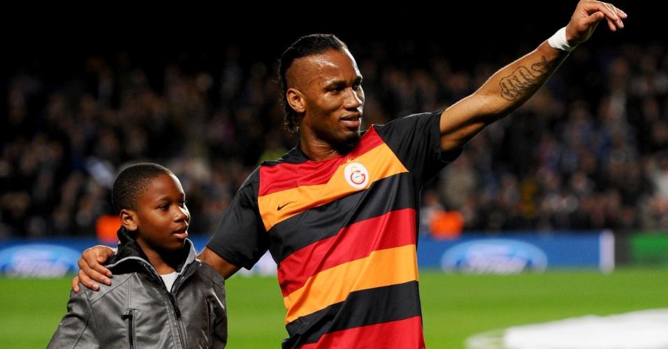 Isaac Drogba, filho de Didier Drogba