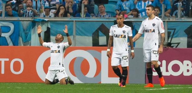 Robinho já fez gol no Grêmio em 2016, pelo Campeonato Brasileiro - Jeferson Guareze/AGIF