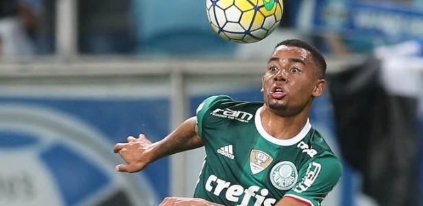 Suspenso, Gabriel Jesus desfalca o Palmeiras diante do Sport neste domingo