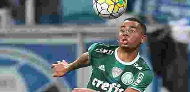 Suspenso, Gabriel Jesus desfalca o Palmeiras diante do Sport neste domingo - Cesar Greco/Fotoarena