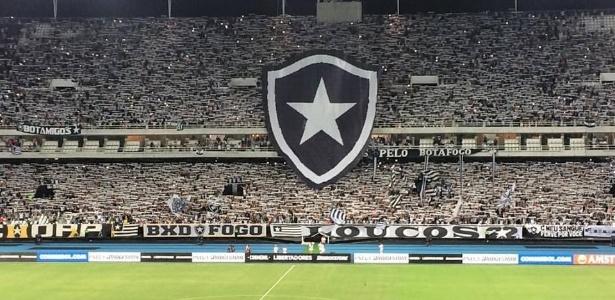 O tradicional mosaico do Botafogo estará presente novamente diante do Nacional-URU