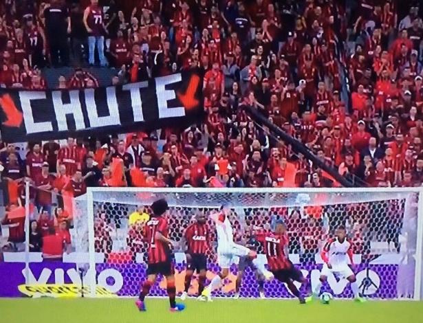 Eduardo Baptista elogiou o volume ofensivo do Atlético
