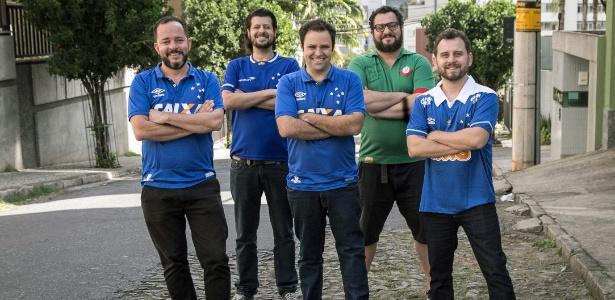 Cinco comunicadores criaram o projeto Memória Celeste, focado na torcida do Cruzeiro