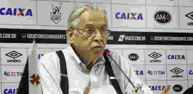 Eurico Miranda criticou a entrevista coletiva concedida por delegada que o intimou - Paulo Fernandes / Flickr do Vasco