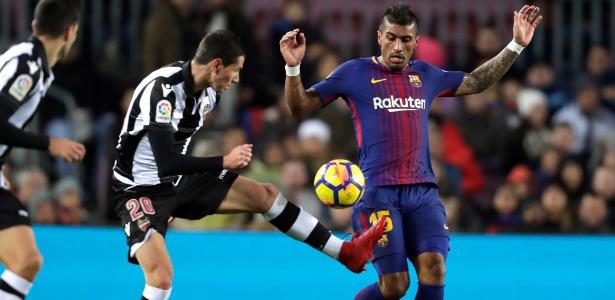 Paulinho é um dos grandes destaques do Barcelona na temporada