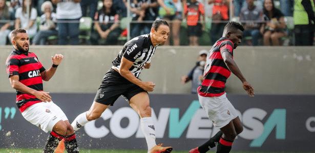 Ricardo Oliveira acredita que vitória sobre o Corinthians fará Atlético-MG ser mais respeitado - Divulgação/Atlético-MG