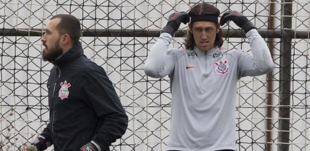 Cássio deve entrar em campo pelo Corinthians já nesta quarta-feira, em Itaquera