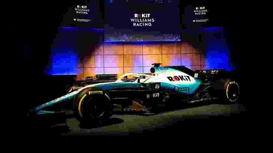 Williams revelou pintura do carro para a temporada 2019 da F1 - Divulgação