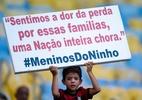 Com sobrevivente presente, homenagens marcam Fla-Flu pós-tragédia - Thiago Ribeiro/AGIF