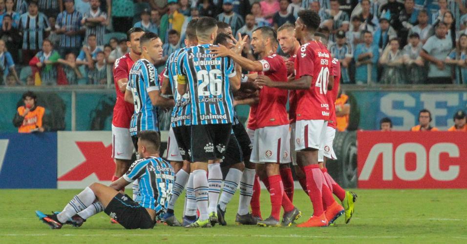 Grêmio Internacional confusão Gaúcho