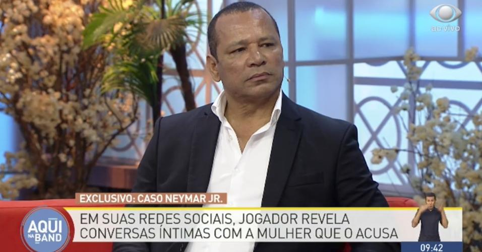 Neymar pai programa TV Band
