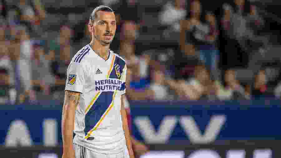 Ibrahimovic pode deixar o Los Angeles Galaxy ao final da temporada da MLS - Shaun Clark/Getty Images