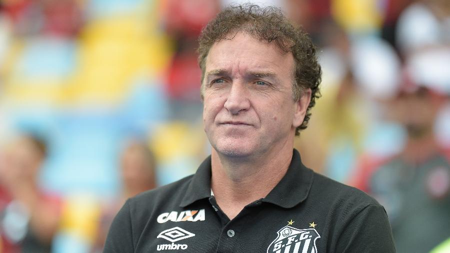 Cuca, quando era treinador do Santos - Thiago Ribeiro/AGIF