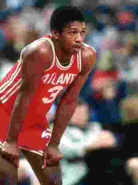 Eddie Johnson, ex-jogador do Atlanta Hawks, da NBA, morreu aos 65 anos - Focus on Sport/Getty Images