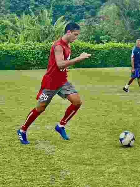 Ex-Botafogo Lucas Zen está sem clube e conta com ajuda do sindicato para seguir na carreira de jogador - Divulgação/Saferj - Divulgação/Saferj