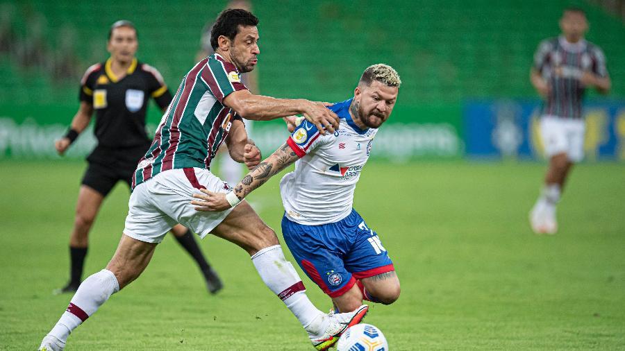 Bahia vem de derrota por 2 a 0 para o Fluminense, no Maracanã - Jorge Rodrigues/AGIF