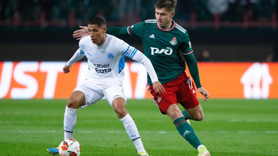 Olympique de Marselha estreia na fase de grupos da Liga Europa contra o Lokomotiv Moscou - REUTERS