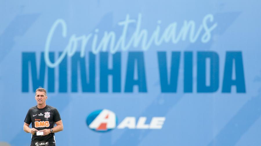 Vagner Mancini comandou o Corinthians em 45 jogos ao longo dos anos de 2020 e 2021  - Rodrigo Coca/ Ag. Corinthians