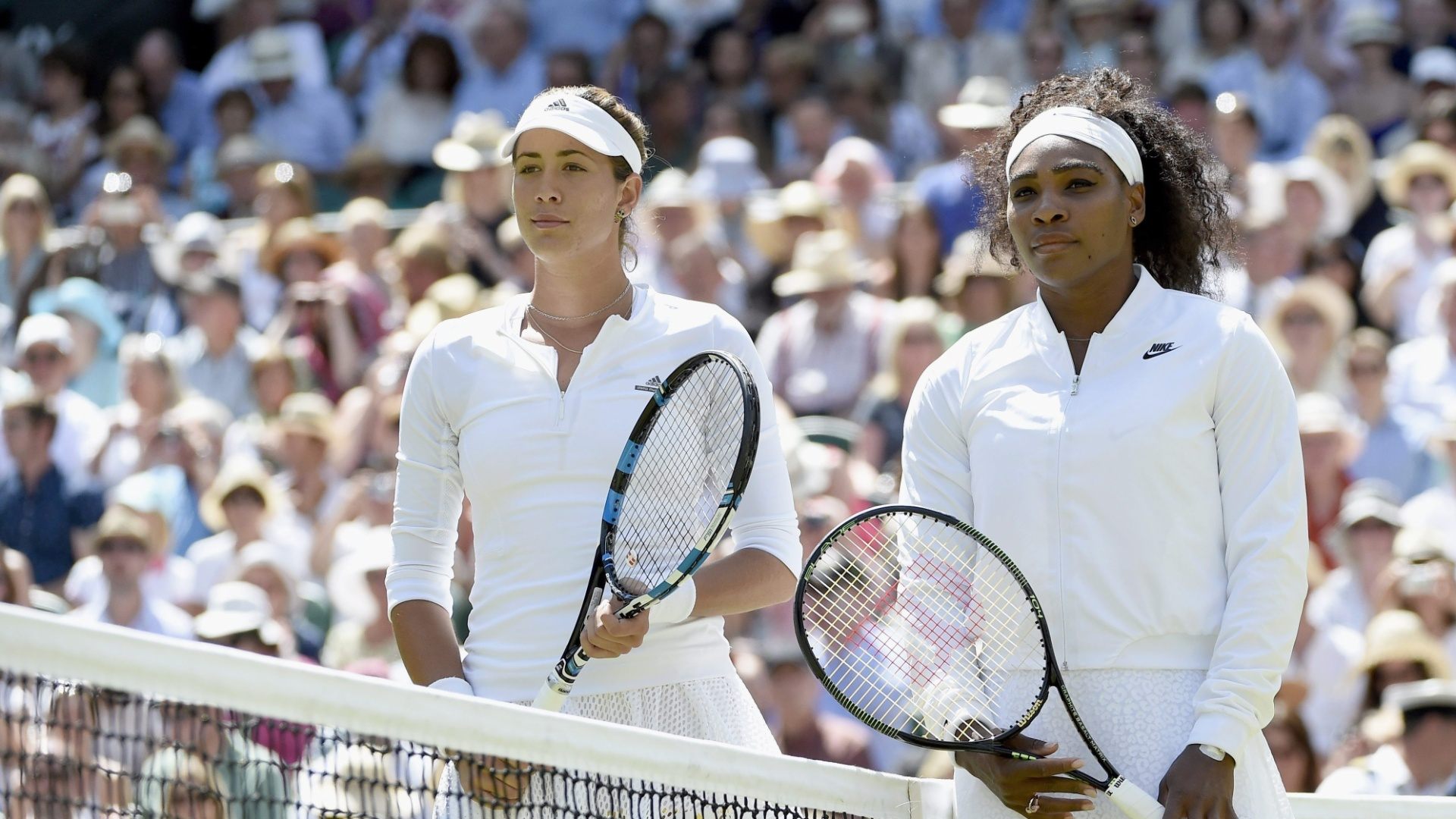 f2dd5d41261 Serena Williams e Garbiñe Muguruza na final de Wimbledon