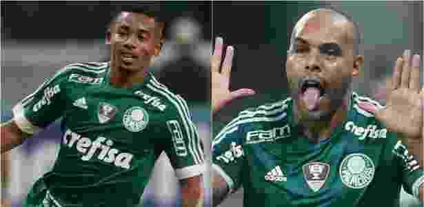 Gabriel Jesus e Alecsandro - Cesar Greco/Ag Palmeiras - Cesar Greco/Ag Palmeiras
