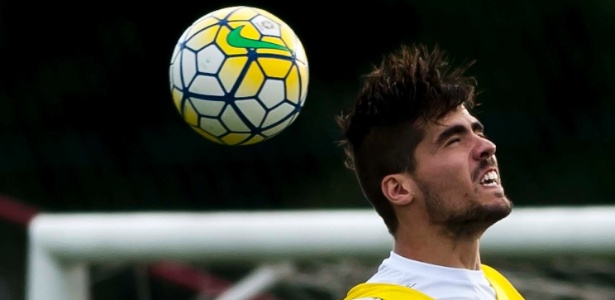Zagueiro argentino Noguera foi contratado de forma inusitada na Vila Belmiro - Divulgação/SantosFC