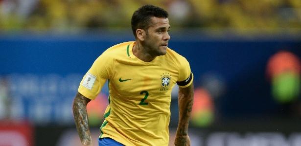 Daniel Alves tem sido o porta-voz da seleção brasileira nesta última semana